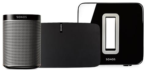 Sonosオーディオシステム